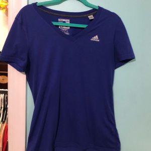 Purple Adidas Tee
